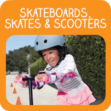Skateboards, Skates and Scooters Toys