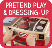 Baby and pre-school roleplay toys