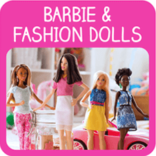 Barbie and Fashion Doll Toys