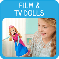 Film and TV Doll Toys