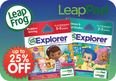 Up to 50% off Leapfrog toys