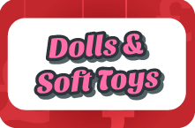 Dolls and soft toys sal