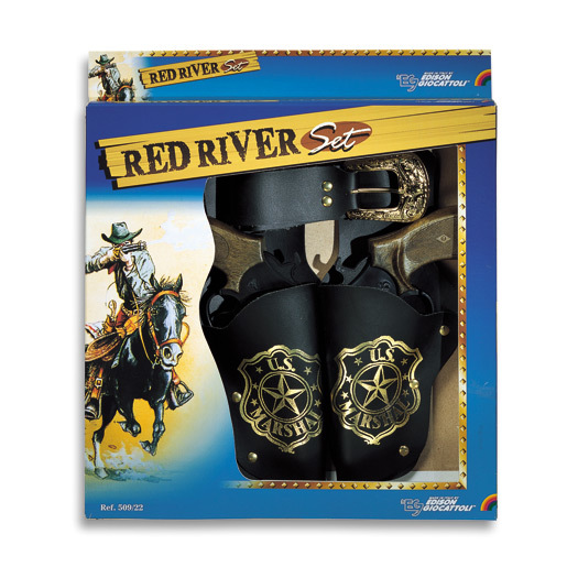 Red River Cap Gun Set - 8 Shot