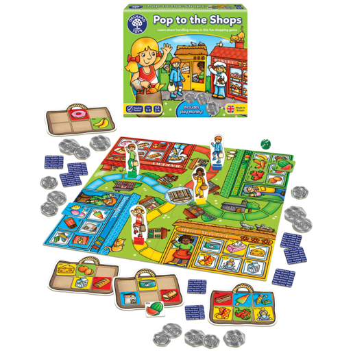 Image of Orchard Toys Pop to the Shops Game