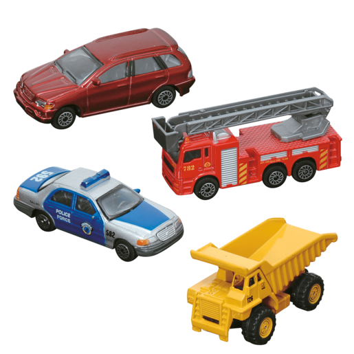 Teamsterz City Street Series Vehicle Set