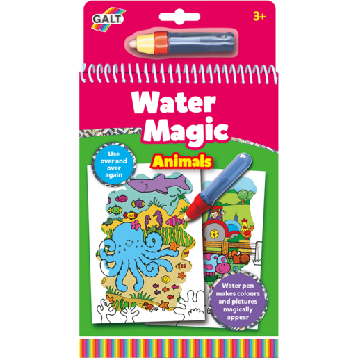 Water Magic Animals Drawing Book