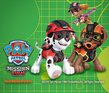 Up To 50% Off Paw Patrol!