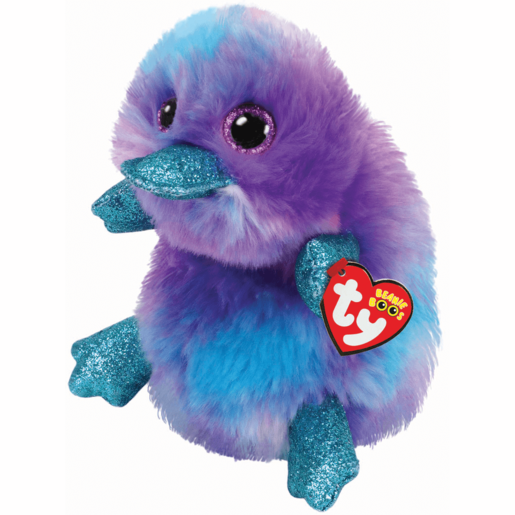 Ty Beanie Boo Buddy 24cm Soft Toy - Zappy Purple Platypus