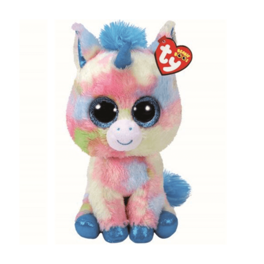 Ty Beanie Boo Buddy 24cm Soft Toy -Blitz the Unicorn