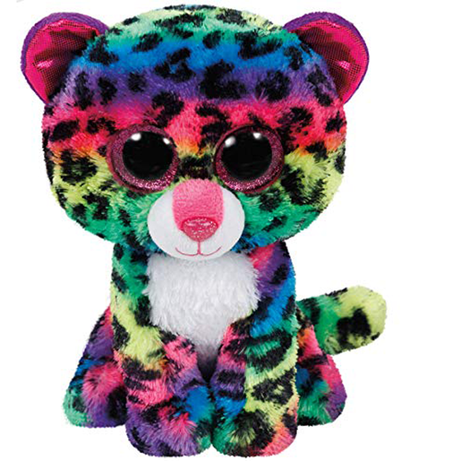 Ty Beanie Boo Buddy Soft Toy - Dotty the Leopard