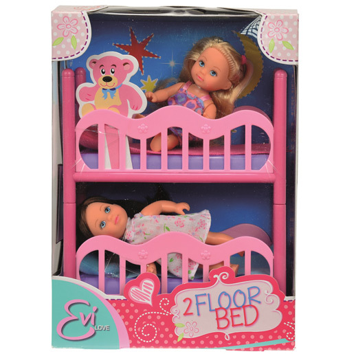 Evi Love 2 Floor Bed Playset