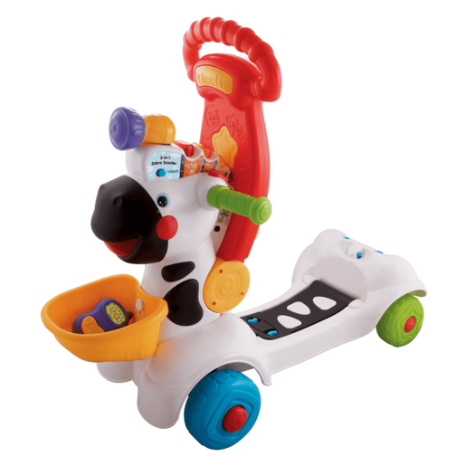 VTech Animal Fun 3 in 1 Zebra Scooter