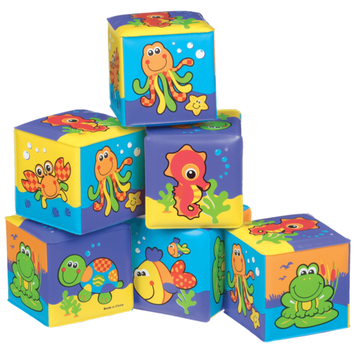 Playgro Soft Cubes