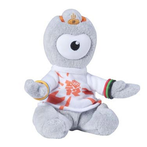 Olympics Wenlock Cuddly Collectible 16cm Soft Toy (Styles Vary)