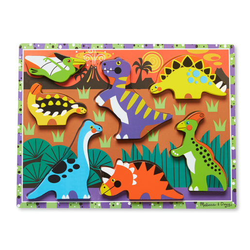 Melissa and Doug Chunky Puzzle - Dinosaurs