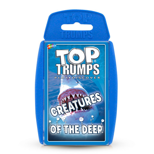 Creatures of the Deep Top Trumps Card Game