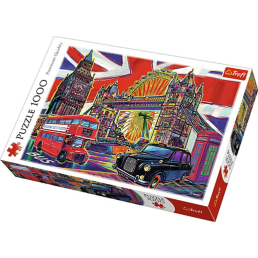 Trefl London Landmarks Jigsaw Puzzle - 1000 Pieces