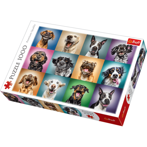 Trefl Funny Dog Portraits Jigsaw Puzzle - 1000 Pieces