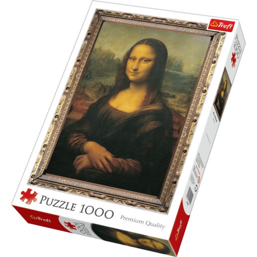 Trefl Mona Lisa Jigsaw Puzzle - 1000 Pieces