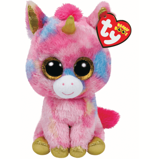 Ty Beanie Boos - Fantasia the Unicorn Soft Toy