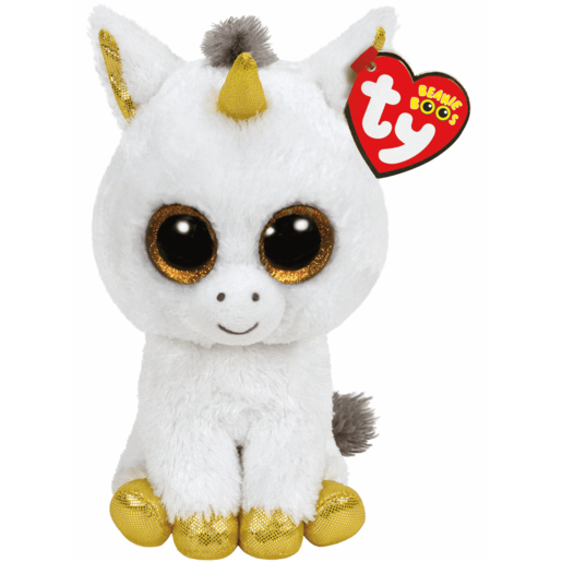 Ty Beanie Boos - Pegasus the Unicorn Soft Toy