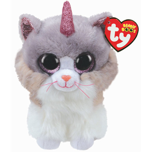 TY Beanie Boo - Asher the Cat (With Horn)