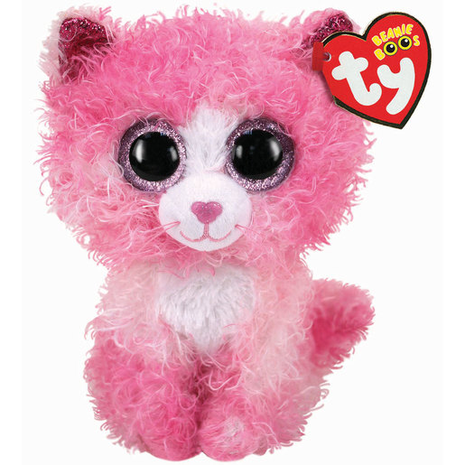 TY Beanie Boo - Reagan the Pink Cat