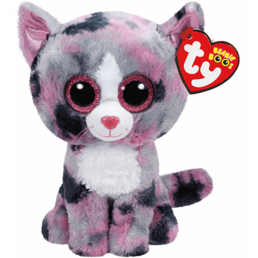 Ty Beanie Boos - Lindi the Cat Soft Toy