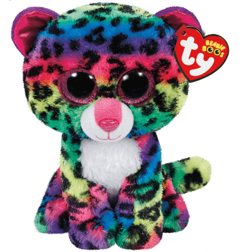 Ty Beanie Boos - Dotty the Leopard Soft Toy
