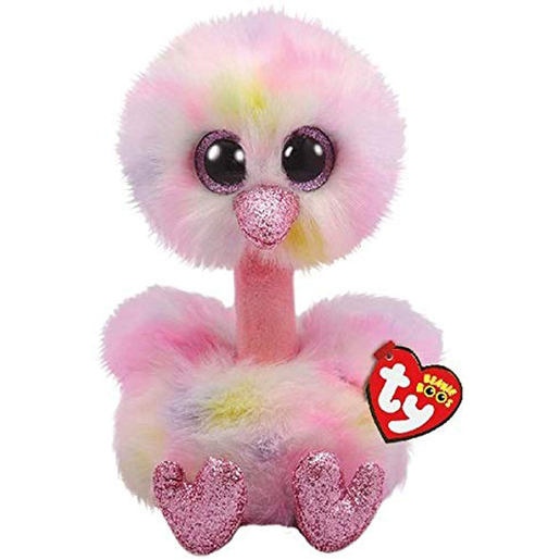 Ty Beanie Boo 15cm Soft Toy - Avery The Ostrich
