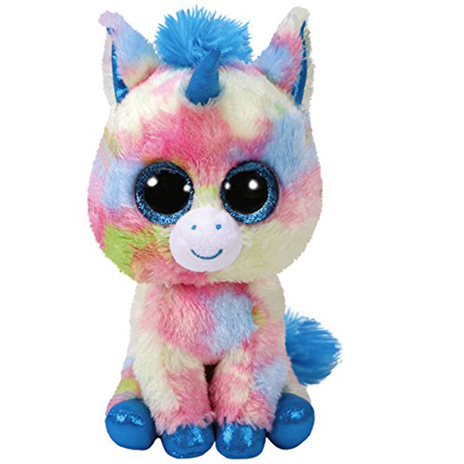 Ty Beanie Boo 15cm Soft Toy - Blitz The Unicorn