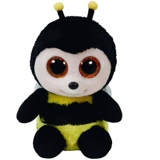 Ty Beanie Boo 15cm Soft Toy - Buzby The Bee