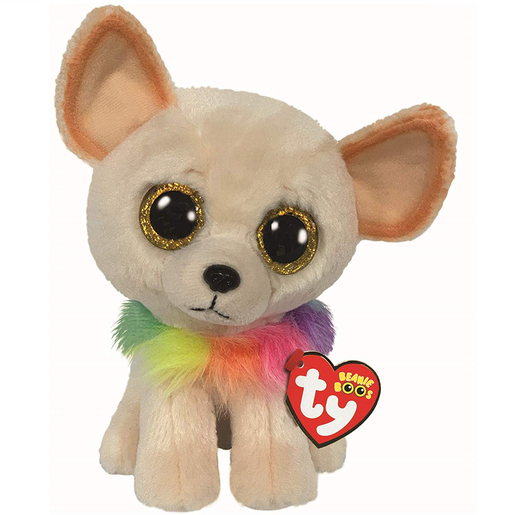Ty Beanie Boo 15cm Soft Toy - Chewey The Chihuahua