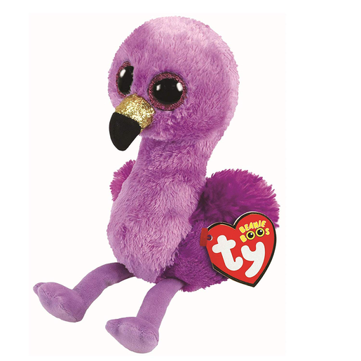 Ty Beanie Boo 15cm Soft Toy - Fifi The Flamingo