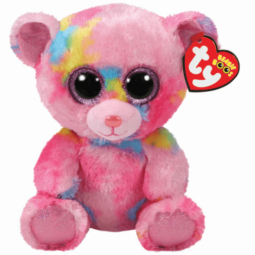 4b204257f92 Ty Beanie Boo 15cm Soft Toy - Franky the Bear