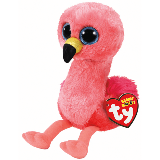 Ty Beanie Boo 15cm Soft Toy - Gilda Flamingo