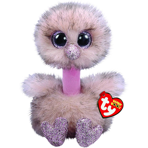 Ty Beanie Boo 15cm Soft Toy - Henna The Ostrich