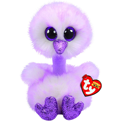 Ty Beanie Boo 15cm Soft Toy - Kenya The Ostrich