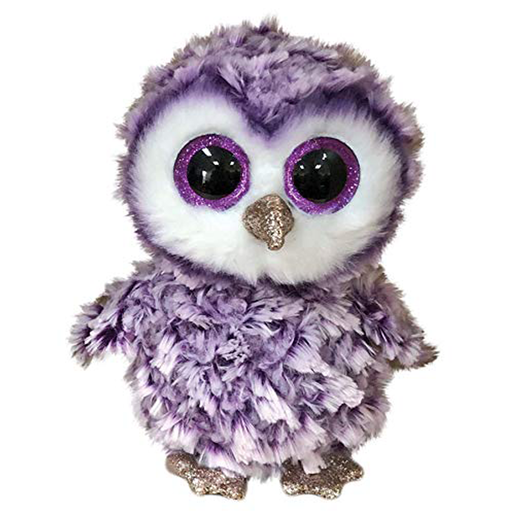 Ty Beanie Boo 15cm Soft Toy - Moonlight The Owl
