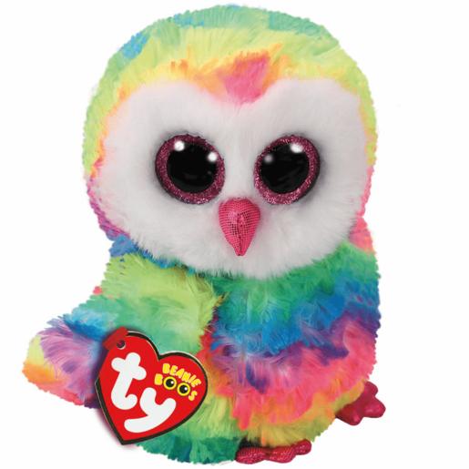 285056928c4 Ty Beanie Boo 15cm Soft Toy - Owen Owl