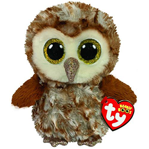 Ty Beanie Boo 15cm Soft Toy - Percy The Owl