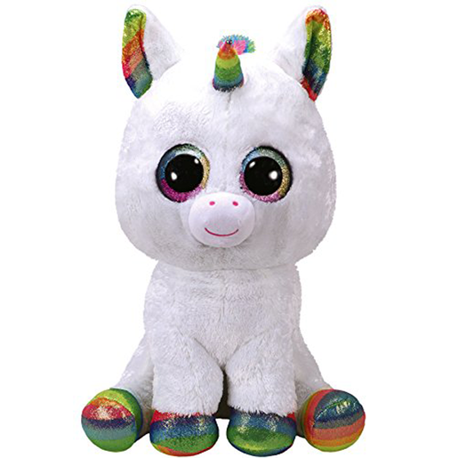 Ty Beanie Boo 15cm Soft Toy - Pixy The Unicorn