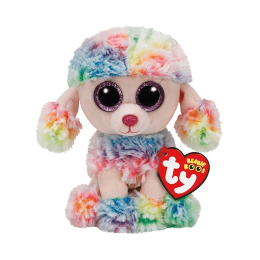 Ty Beanie Boo 15cm Soft Toy - Poodle