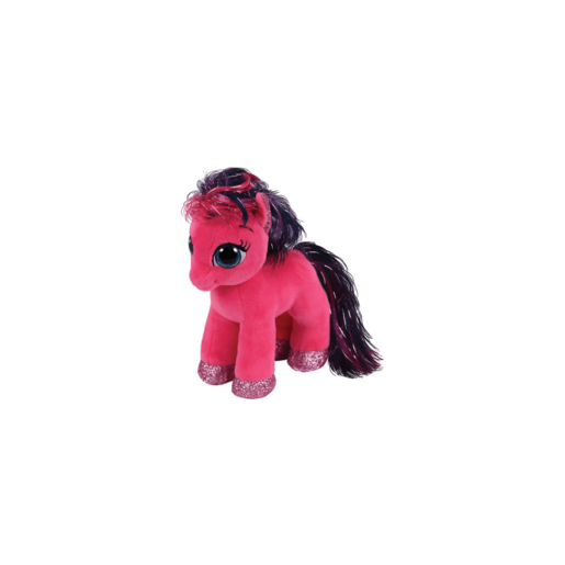 Ty Beanie Boo 15cm Soft Toy - Pink Ruby Pony
