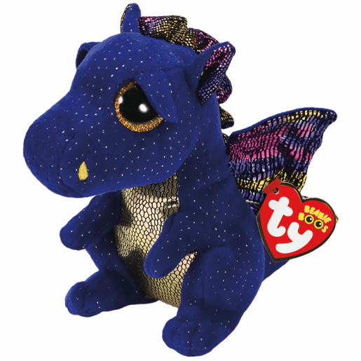 Ty Beanie Boo 15cm Soft Toy - Saffire Dragon
