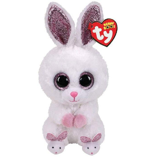Ty Beanie Boo 15cm Soft Toy - Slippers Bunny