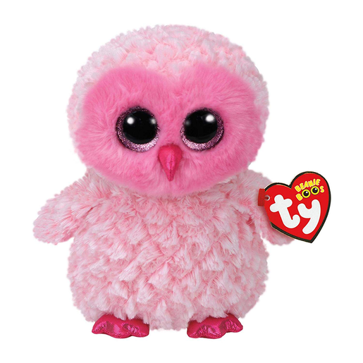 Ty Beanie Boo 15cm Soft Toy - Twiggy The Owl