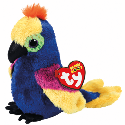 Ty Beanie Boo 15cm Soft Toy - Wynnie Parrot