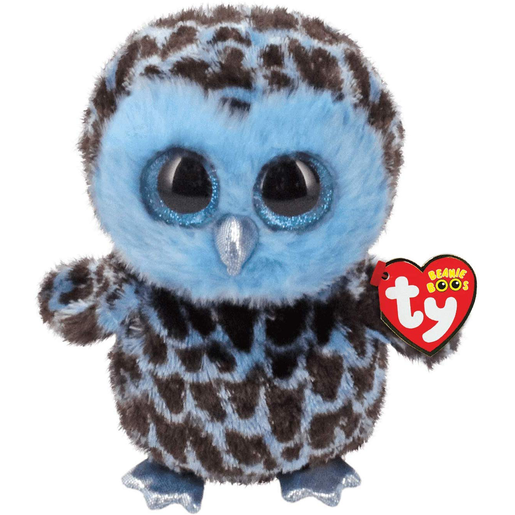 Ty Beanie Boo 15cm Soft Toy - Yago The Owl