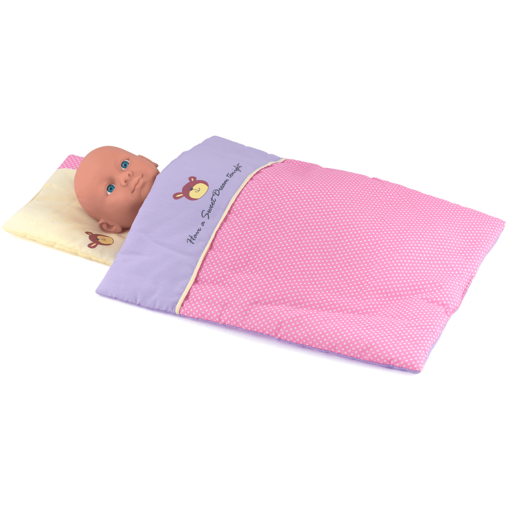 Dolls World - Quilt & Pillow Set